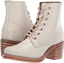 9d3349df8f58 Dsquared2 big white lace up boot