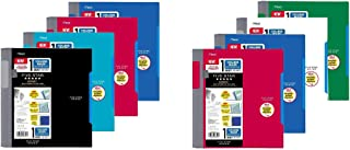 Five Star Advance Spiral Notebook-Standard Size, 1 Subject, 100 College-Ruled sheets, 11 x 8.5 Inch Sheet Size, Assorted C...