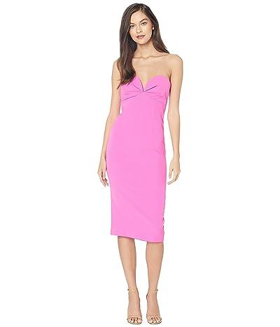 Bardot Kayla Midi Dress (Pink Shock) Women