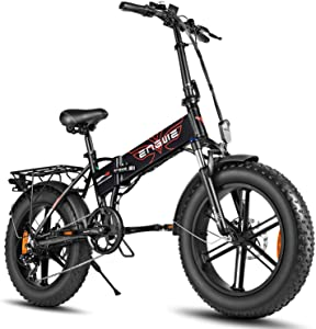 ENGWE 500W 20 inch Fat Tire Electric Bicycle