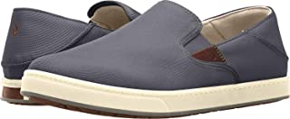 OLUKAI Kahu Charcoal/Off-White 10