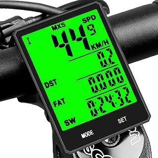 SY Bicycle Speedometer and Odometer Wireless Waterproof...