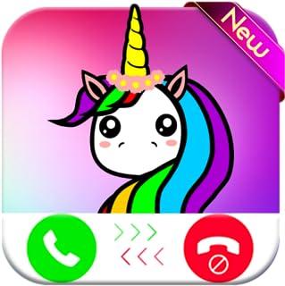 Unicorn Cartoon Horse calling you - Fake Phone Call ID 2018 - Free Prank Call
