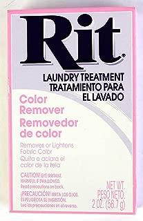 Rit Dye Laundry Treatment Color Remover Powder, 2 oz, 10-Pack