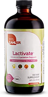 Zahler Lactivate, Lactation Support Supplement to Increase Mothers Milk Quality and Quantity, All Natural Breastfeeding Li...