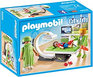 Playmobil City Life X-Ray Room Building Toy - (4 Years & Above) - Multi Color