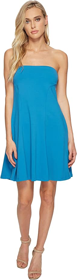 Danielle Strapless Flare Dress