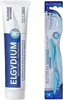 Elgydium Whitening Toothpaste 2.5 oz + Elgydium Whitening Soft Toothbrush set
