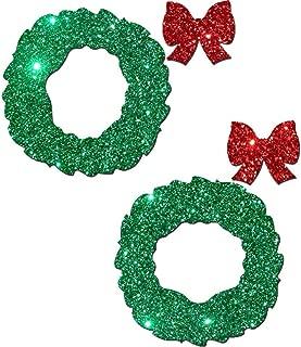 christmas wreath nipple covers