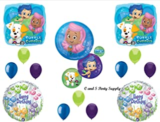 NEW Bubble Guppies XL Birthday Party Balloons Decorations Supplies NEW! by Qualatex by Qualatex