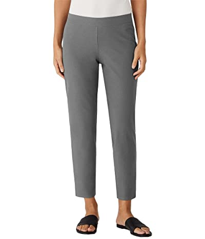 Eileen Fisher Petite Slim Ankle Pants in Stretch Crepe