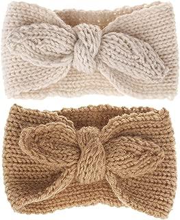 Winter Cute Kids Baby Girls Knit Rabbit Knotted Headband Headwrap Earwarmer