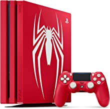 Playstation 4 Pro 1TB SSD Limited Edition Console - Marvels Spider-Man Bundle Enhanced with Fast Solid State Drive