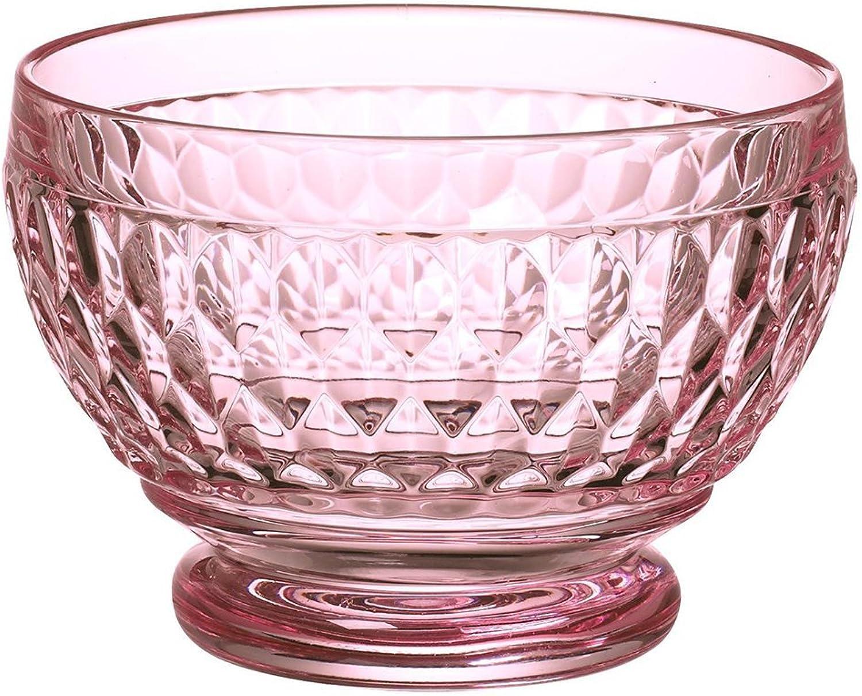 Villeroy & Boch Boston Glass Bowl Set of 4, pink