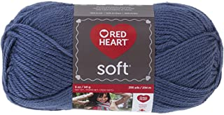 Red Heart Soft Yarn, Mid Blue