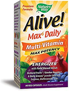 Best alive vitamins ingredients label Reviews