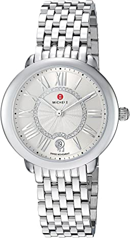 Michele - Serein Mid Watch Silver