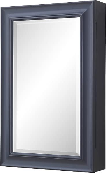 Napa Wall Mounted Medicine Cabinet Charcoal Gray