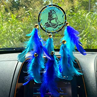 Rooh dream catcher ~ Shiva Moon Car Hanging ~ Handmade Hangings for Positivity (Can be used as Home Dcor Accents, Wall Han...
