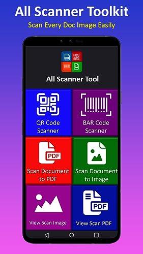 『すべて スキャナー ツールキット- QR、PDF、JPG、バーコード』の8枚目の画像