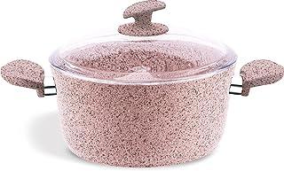 Homemaker Granitec Cooking Pot 24cm - Pink
