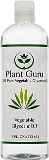 Vegetable Glycerine/Glycerin 16 oz Food Grade USP Kosher 100% Pure Highest Quality and Purity