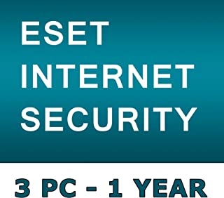 ESET INTERNET SECURITY 2019 / 3 PC's / 1 Year / Windows PC / GENUINE KEY ESET / One Code - One Buyer ! No CD only Code