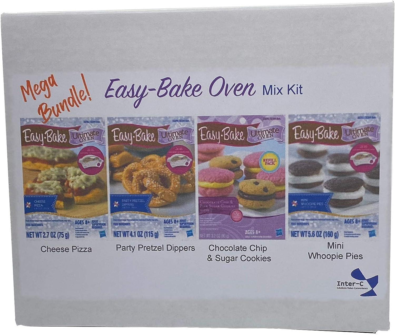 INTERC Easy Bake Mixes 3pack Pretzel, Velvet, Whoopie, Mitt