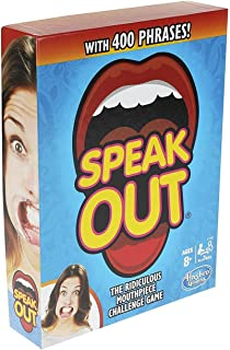 Hasbro Gaming Speak Out Game Mouthpiece Challenge