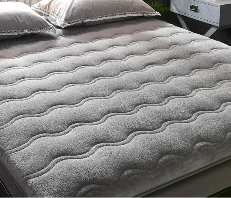 Mattress,Flannel Sponge pad,Padded Plush Mattress,Tatami Mat,Sponge Mattress Padded for Bedroom Hotel-A 120x190cm(47x75inch)