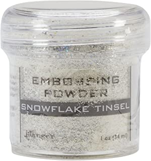 Best ranger snowflake tinsel embossing powder Reviews