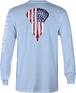 Boys American Lacrosse Long Sleeve T-Shirt