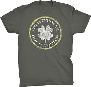 St Patricks Day Irish Shirt - I'm A Drinker Not A Fighter