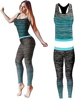 1a6ee052f Conjunto de ropa de yoga o entrenamiento para mujer de Bonjour®, parte  superior y