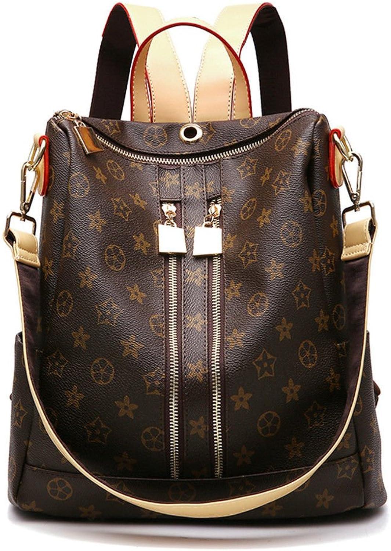 GAOQIANGFENG New fashionWaterproof Rucksack Mode   Rucksack für für für Mädchen, Kaffee, 31X29X14CM B07F9KZ8PV  Online-Verkauf 1a5c1d