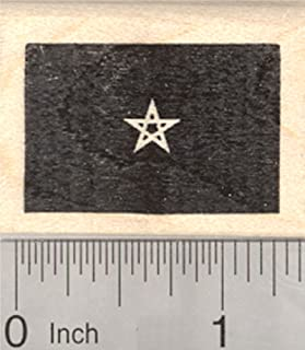 Flag of Morocco Rubber Stamp