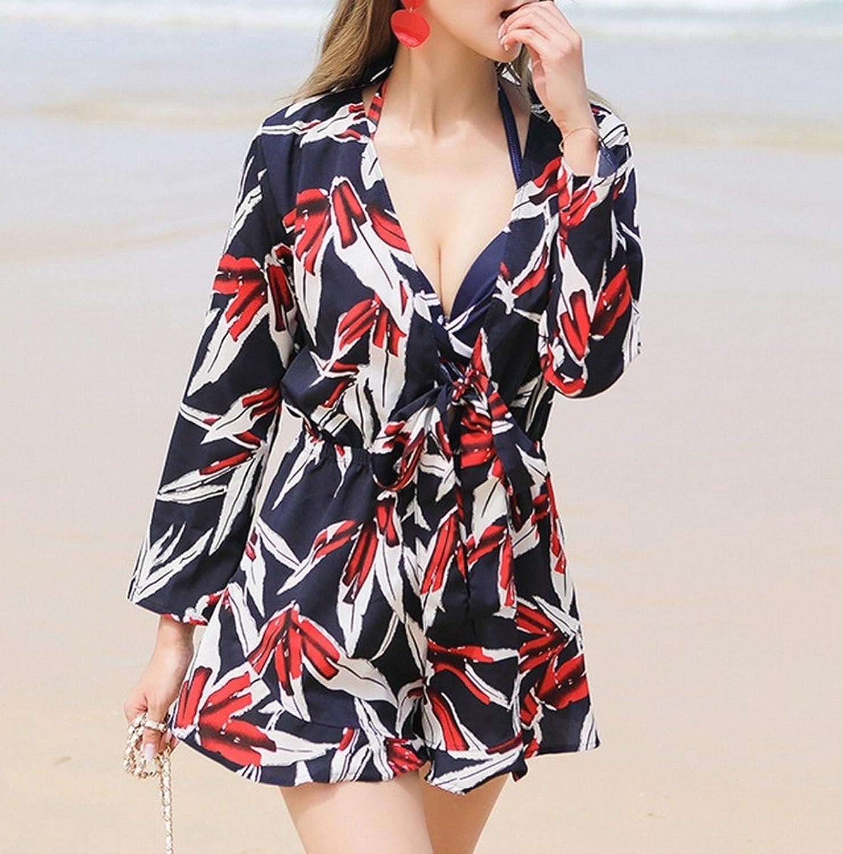 Homee Homee Homee Badeanzug Beach Skirt - Damen Bikini Dreiteilige Conservative Swimsuit Spa Badeanzug Bademode,Im Bild,L B07DYLZ5LK  Mode dynamisch 682d3d