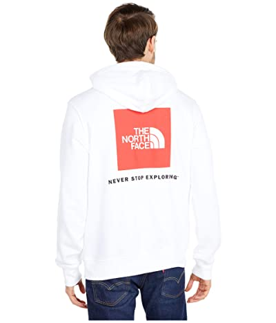 The North Face Box Nse Pullover Hoodie (TNF White/TNF Red) Men