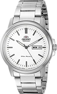 Orient Japanese Automatic Stainless Steel Strap, Silver, 7 Casual Watch (Model: RA-AA0C03S19A)
