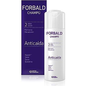 FORBALD – Champú anticaída cabello con vitaminas. Doble acción ...