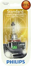 Philips H11 Standard Halogen Headlight Bulb (Pack of 1)