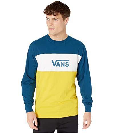 Vans Retro Active Long Sleeve T-Shirt (Gibraltar Sea/Sulphur) Men