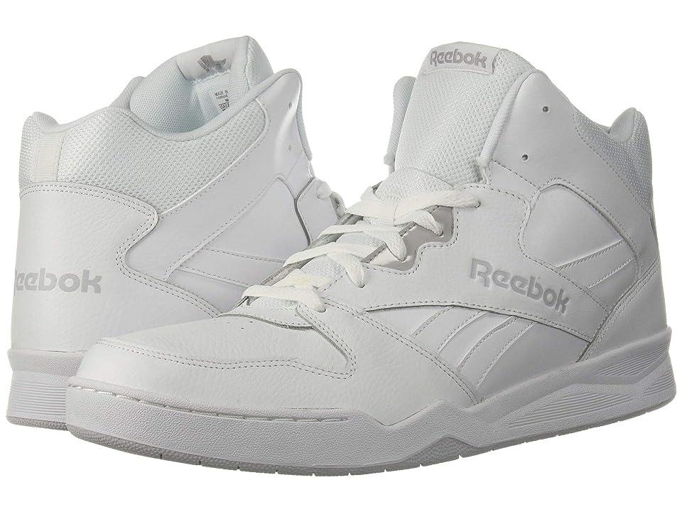 c78c6db6f92 Reebok Lifestyle Royal BB4500 Hi 2 (White Light Grey Heather Solid Grey) Men