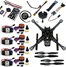 QWinOut S600 DIY FPV Drone 4 Axis Quadcopter Welded Kit Unassembled w/ Pix2.4.8 Flight Control GPS 7M 40A ESC 700kv Motor