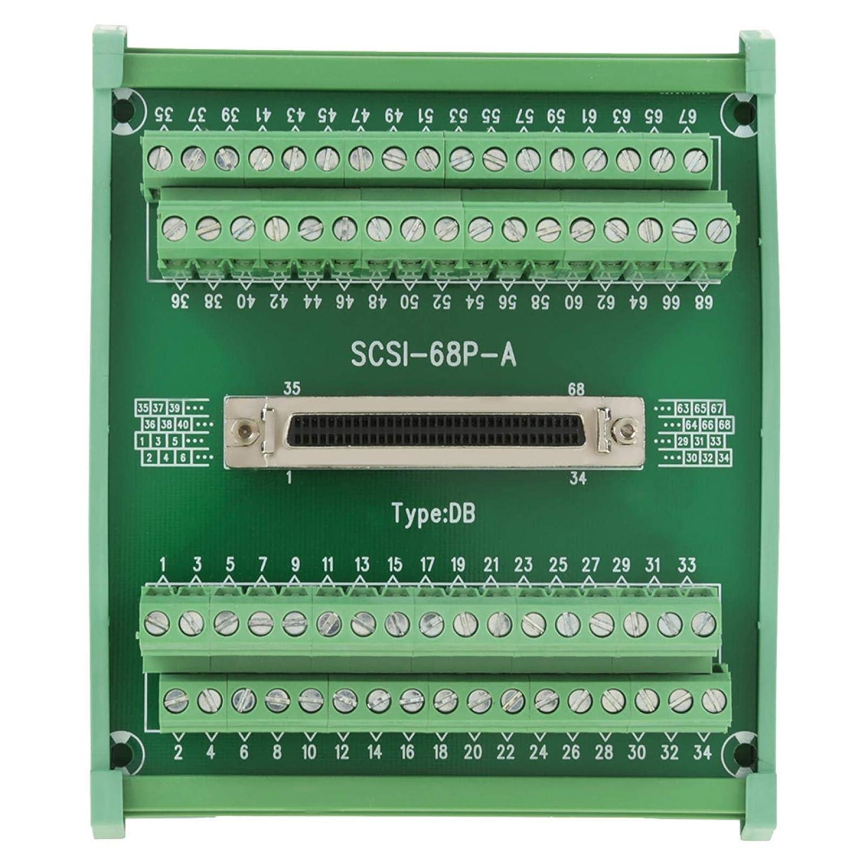 Max 81% OFF Terminal Module DB Type Female DIN 68-pin Brea Max 85% OFF SCSI68 Connector