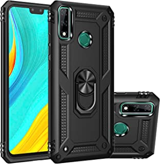 """MOONCASE Y8s Case, Hybrid 2 in 1 Case PC + TPU Rugged Armor with Kickstand Shockproof Protective Cover for Huawei Y8s 6.5""""..."""
