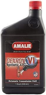 Amalie (160-72876-56-12PK DEXRON-VI Automatic Transmission Fluid Case 1 Quart, (Pack of 12)