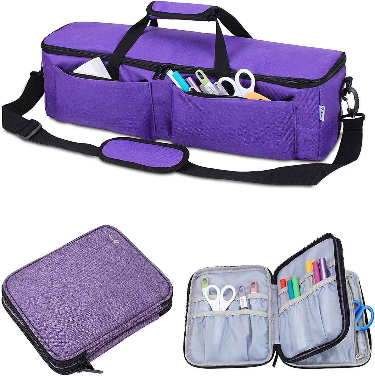 Yarwo Carrying Price reduction Bag Bundle with Quality inspection Organizer Case Compatible Cr
