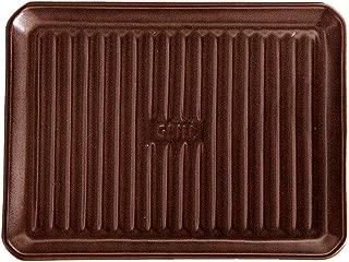 xib-422094/〈イブキクラフト TOOL-S 〉グリルプレート Lサイズ ブラウン|魚焼きグリル グリラー 陶器