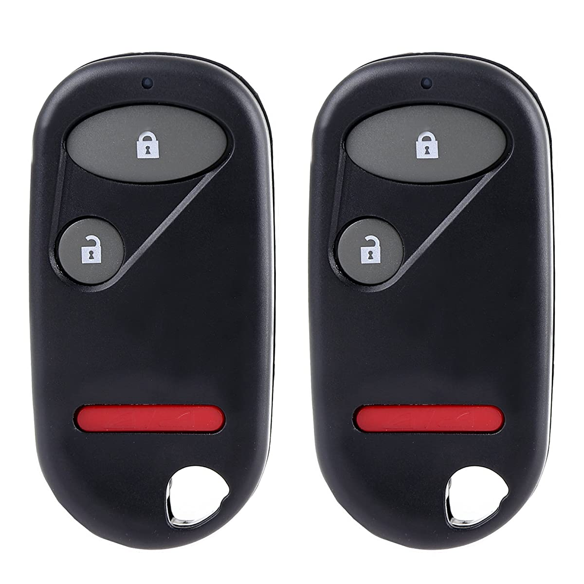 ECCPP Replacement fit for Keyless Entry Remote Key Fob Honda Civic/Honda Pilot NHVWB1U523 NHVWB1U521 (Pack of 2)